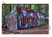 Whistler Train Wreck Box Car Carry-all Pouch