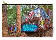 Whistler Train Wreck Box Car Graffiti Carry-all Pouch
