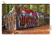Whistler Train Wreck Graffiti Carry-all Pouch