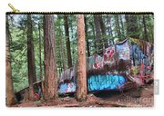 Whistler Train Wreckage In The Trees Carry-all Pouch