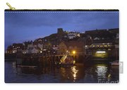 Whitby Lower Harbour And The Rnli Lifeboat Station At Night Carry-all Pouch