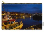 Whitby Upper Harbour At Night Carry-all Pouch