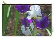 White And Blue Iris Stalks At Boyce Thompson Arboretum Carry-all Pouch