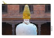 White And Golden Chorten Carry-all Pouch