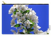 White And Wonderful Carry-all Pouch by Elizabeth Dow