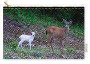 White Angel And Mom II Carry-all Pouch