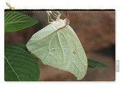 White Angled Sulphur #2 Carry-all Pouch