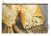 White Baguette Carry-all Pouch by Elena Elisseeva