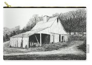 White Barn On Bluff Road Carry-all Pouch