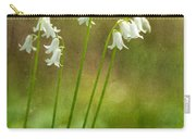 White Bells Carry-all Pouch