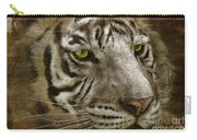 White Bengal Carry-all Pouch