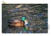 White-bibbed Mallard Carry-all Pouch