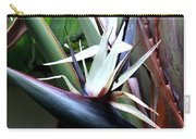 White Bird Of Paradise Carry-all Pouch