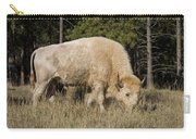 White Bison Symbol Of Hope And Renewal Carry-all Pouch