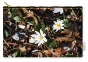 White Bloodroot Carry-all Pouch