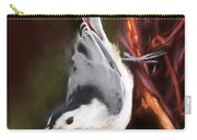 White-breasted Nuthatch - Classic Pose Carry-all Pouch