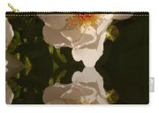 White Briar Rose Reflection Carry-all Pouch
