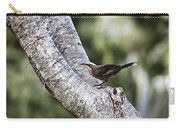 White Brown Babbler Carry-all Pouch
