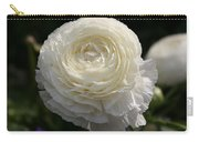White Buttercup - Ranunculus Carry-all Pouch