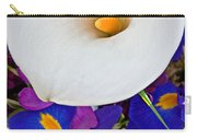 White Calla Lily Bouquet Art Prints Carry-all Pouch