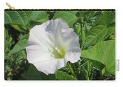 White Candour Carry-all Pouch
