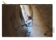 White Canyon Path Desert Sinai Egypt Carry-all Pouch
