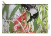 White-cheeked Honeyeater Feeding Carry-all Pouch