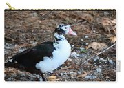 White Chested Muscovy Carry-all Pouch