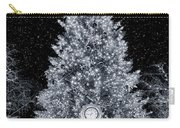 White Christmas In Texas Carry-all Pouch