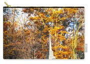 White Church In Autumn Carry-all Pouch