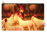 White Circus Ponies Carry-all Pouch