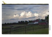 White Clouds Over The Farm Carry-all Pouch
