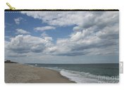 White Clouds Over The Ocean Carry-all Pouch
