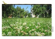 White Clover Field And The Playground Carry-all Pouch