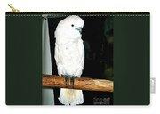White Cockatiel-loreto Mx. Carry-all Pouch