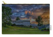 White Columns Under Evening Skies Carry-all Pouch