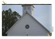 White Country Church Series Photo A Carry-all Pouch