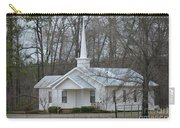 White Country Church Series Photo B Carry-all Pouch