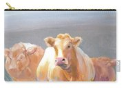 White Cows Painting Carry-all Pouch