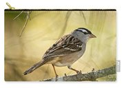 White-crowned Sparrow Pictures 63 Carry-all Pouch