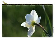 White Daffodil Rear Profile Carry-all Pouch