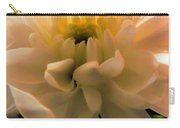 White Daisy Carry-all Pouch