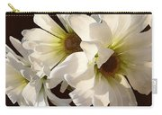 White Daisies In Sunshine Carry-all Pouch