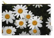 White Daisy's On The Rim Carry-all Pouch