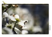 White Dogwood Flowers Carry-all Pouch