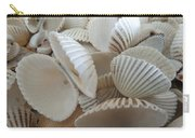 White Double Ark Shells Carry-all Pouch