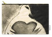 White Dove Art - Comfort - By Sharon Cummings Carry-all Pouch