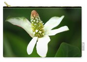 White Elegance Carry-all Pouch