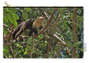 White-faced Capuchin Monkey In Manuel Antonio National Preserve-costa Rica Carry-all Pouch