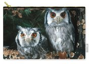 White Faced Scops Owl Carry-all Pouch